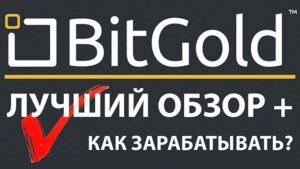 bitgold как заработать золото