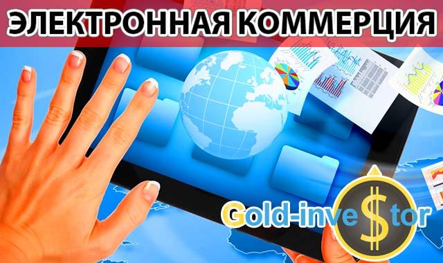 Развитие Электронной коммерции