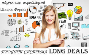 Обучение форекс по системе Long Deals приводит к профиту!